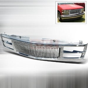 Chevrolet 1994-1998 Chevy Pick Up C10 1Pc Chrome Grille PERFORMANCE