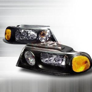 Lincoln 1998-2002 Lincoln Navigator Headlights/ Head Lamps-Euro Style