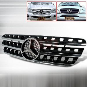 Mercedes 1998-2005 Mercedes Benz W163 M-Class Grille Amg Look Performance-d
