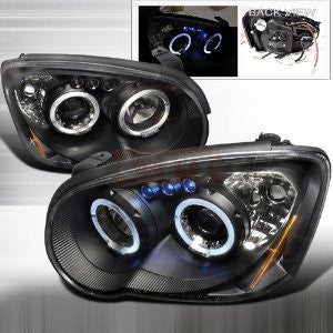Subaru 04-05 Subaru Impreza - Black Projector Head Lights/ Lamps -