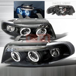 Audi 1996-1999 Audi A4 Projector Head Lamps/ Headlights 1 Set Rh&Lh Performance 1996,1997,1998,1999-y