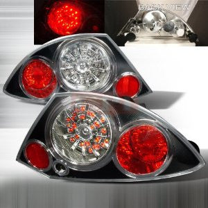 MITSUBISHI 2000-2003 MITSUBISHI ECLIPSE LED TAIL LIGHTS /LAMPS 1 SET RH&LH PERFORMANCE 2000,2001,2002,2003