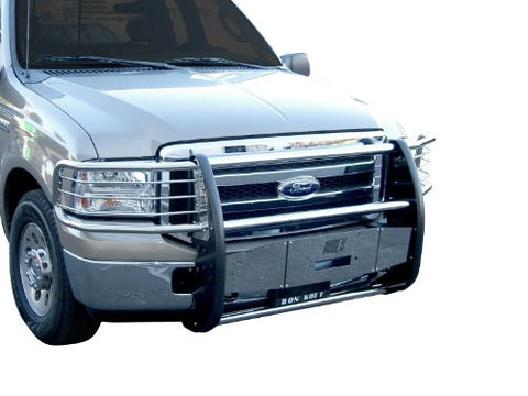 Chevrolet Ck 2500 Pickup Chevrolet Pu 2500 One Piece Grill/Brush Guard Stainless Grille Guards & Bull Bars Stainless Products Performance