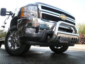 CHEVROLET SILVERADO 2500 HD 2011 CHERVOLET SILVERADO 2500 HD BULL BAR 3inch WITH STAINLESS SKID PLATE  Guards & Bull Bars