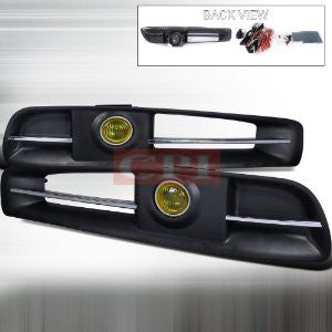 INFINITI 03-05 G35 2DR FOG LIGHT KIT YELLOW performance conversion kit  1 SET RH & LH 2003,2004,2005