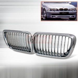 Bmw 1996-2003 Bmw E39 5-Series Front Hood Grille Performance-q