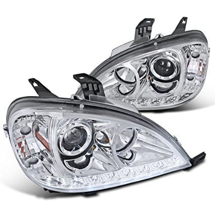 BENZ 02-05 BENZ ML PROJECTOR HEADLIGHTS CHROME