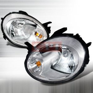 DODGE 2003-2005 DODGE NEON CRYSTAL HEADLIGHTS/ HEAD LAMPS-EURO STYLE PERFORMANCE 2003,2004,2005