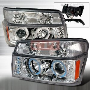 COLORADO/CANYON 2004-2005 COLORADO/CANYON HALO PROJECTOR HEAD LAMPS only (corner lamp sold separately)1 SET RH&LH