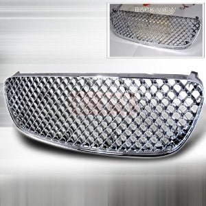 Nissan 02-03 Nissan Maxima - Chrome Mesh Grille - Rs PERFORMANCE