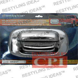 Gmc 1999-2006 Sierra Chrome Tailgate Handle Cover Performance 1999,2000,2001,2002,2003,2004,2005,2006