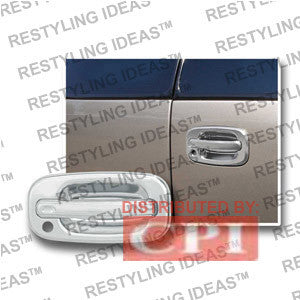 Chevrolet 2000-2006 Suburban/Tahoe Chrome Rear Door Handle Cover Performance 2000,2001,2002,2003,2004,2005,2006