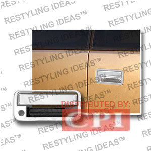 Gmc 1992-1999 Yukon Chrome Rear Door Handle Cover Performance 1992,1993,1994,1995,1996,1997,1998,1999