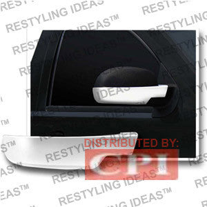 Gmc 2007-2008 Sierra Chrome Mirror Cover (Bottom Half) Performance