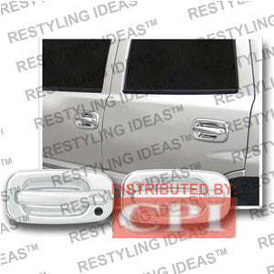 Chevrolet 1999-2006 Silverado Chrome Door Handle Cover 4D W/Passenger Side Keyhole Performance