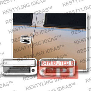 Chevrolet 1988-1998 C/K P/U Chrome Door Handle Cover 2D W/Passenger Side Keyhole Performance