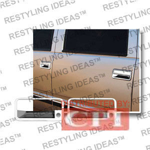 Cadillac 1999-2000 Escalade Chrome Door Handle Cover Panel Only W/Passenger Side Keyhole Performance