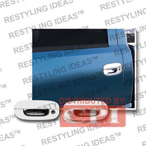 Dodge 1994-2001 Ram Chrome Door Handle Cover 2D W/Passenger Side Keyhole Performance