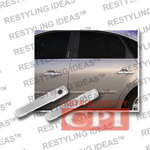 Mercury 2005-2007 Montego Chrome Door Handle Cover 4D No Passenger Side Keyhole Performance