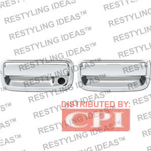 Toyota 1995-2004 Tacoma Chrome Door Handle Cover 4D W/Passenger Side Keyhole Performance