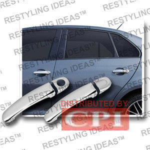 Volkswagen 2006-2008 Jetta Chrome Door Handle Cover 4D No Passenger Side Keyhole Performance