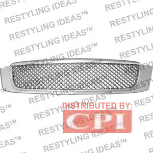 Cadillac 2000-2006 Cadillac Deville Chrome Mesh Abs Grille Performance