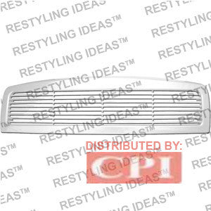 Dodge 1994-2001 Dodge Ram Chrome Horizontal Bar Abs Grille Performance 1994,1995,1996,1997,1998,1999,2000,2001