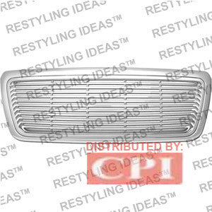 Lincoln 2006-2008 Lincoln Mark Lt Chrome Horizontal Bar Abs Grille Performance