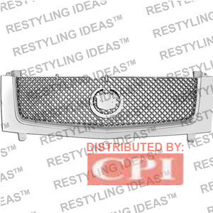 Cadillac 2002-2006 Cadillac Escalade Chrome Mesh Abs Grille Performance