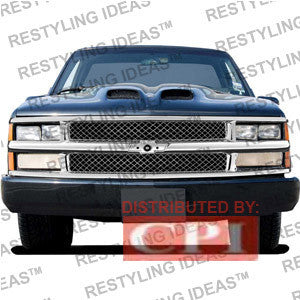 Chevrolet 1988-1998 Chevrolet C/K Pick Up Chrome Mesh Abs Grille Performance