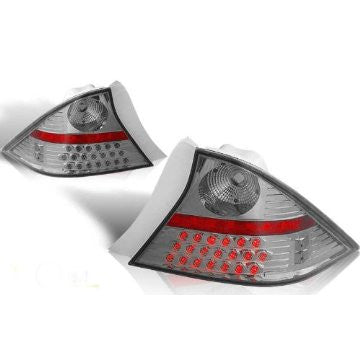 01-03 HONDA CIVIC 2DR LED TAIL LIGHT - CHROME/SMOKE performance