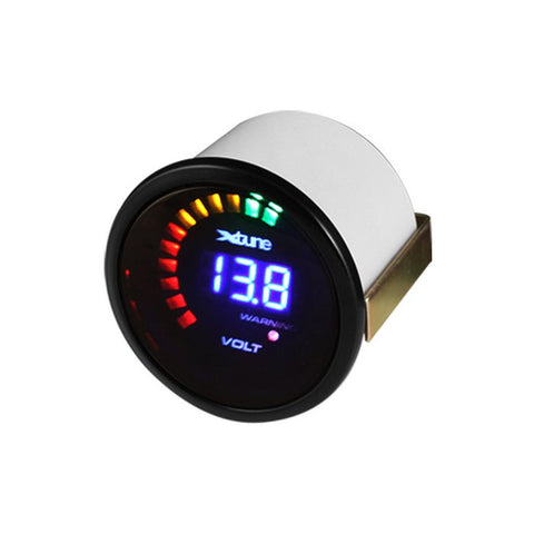 Xtune Digital Volt Gauge 52MM - Smoke