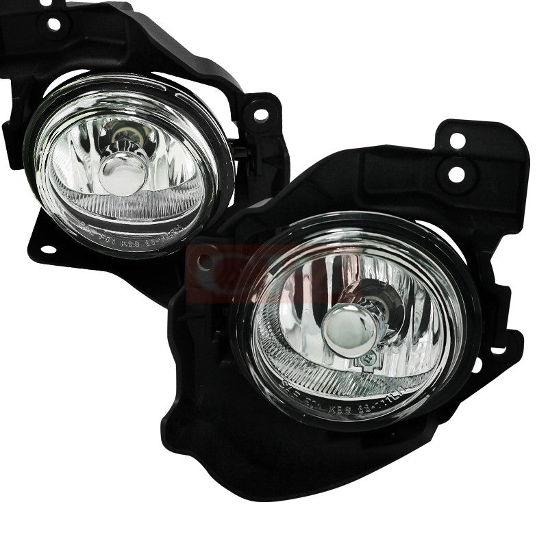 Mazda 10 11 Mazda Mazda 3 Fog Light Kit Clear Lens