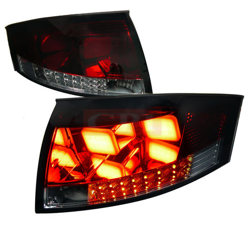 Audi  99-06 Audi  Tt  Led Tail Lights V2 Smoked Lens