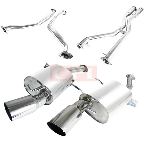 Bmw  07-10 Bmw  E92 335I 3 Inches Catback Exhaust System