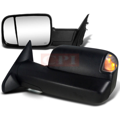 Dodge  12-Up Dodge  Ram  Heated Towing Mirrors - Power