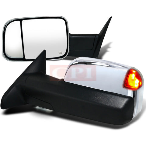 Dodge  12-Up Dodge  Ram  Heated Towing Mirrors - Power With Memory