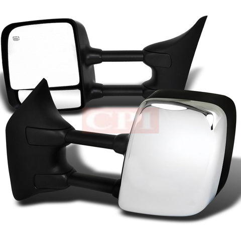 Nissan  04-07 Nissan  Titan  Heated Towing Mirrors- Power Chrome Cover