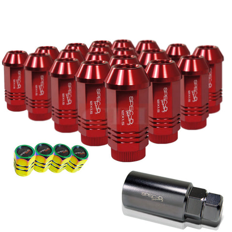 All Universal All All Lug Nut Set: 12X1.5 Rd 21 Pcs Set