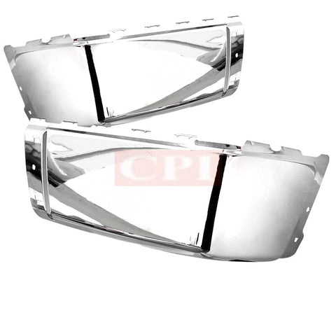 CHEVY  07-13 CHEVY  SILVERADO REAR BUMPER END CAP RIGHT AND LEFT SIDE CHROME   PERFORMANCE   2007,2008,2009,2010,2011,2012,2013