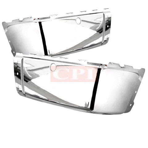 CHEVY  07-13 CHEVY  SILVERADO REAR BUMPER END CAP WITH SENSOR RIGHT AND LEFT SIDE CHROME   PERFORMANCE   2007,2008,2009,2010,2011,2012,2013