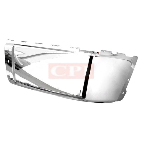 CHEVY  07-13 CHEVY  SILVERADO REAR BUMPER END CAP RIGHT SIDE CHROME   PERFORMANCE   2007,2008,2009,2010,2011,2012,2013
