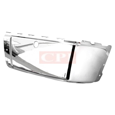 CHEVY  07-13 CHEVY  SILVERADO REAR BUMPER END CAP WITH SENSOR RIGHT SIDE CHROME   PERFORMANCE   2007,2008,2009,2010,2011,2012,2013