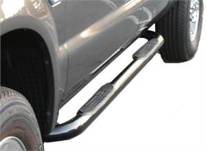 Acura Mdx 02-06 Acura Mdx Sidebar 3Inch Black Nerf Bars & Tube Side Step Bars Stainless Products Performance 1 Set Rh & Lh 2002,2003,2004,2005,2006