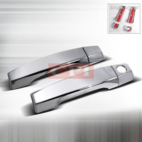 NISSAN 2004-2007 NISSAN TITAN 2DR DOOR HANDLE COVERS CHROME PERFORMANCE 2004,2005,2006,2007