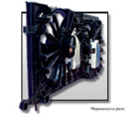 Hyundai 10-11 Hyundai Genesis Coupe 2.0L L4 Radiator & Condenser (S) Cooling Fan Assembly (1) Pc Replacement 2010,2011