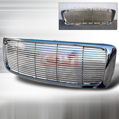 Dodge 2002-2005 Dodge Ram Pick Up Chrome Grille Performance-v