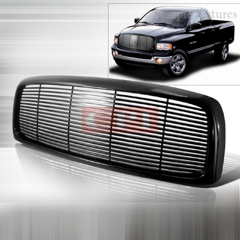 Dodge 2002-2005 Dodge Ram Pick Up Black Grille Performance-b
