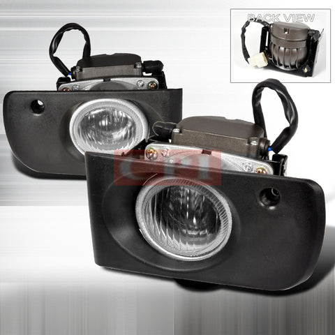 ACURA 94-01 ACURA INTEGRA - CLEAR OEM STYLE FOG LIGHTS/ LAMPS   1 SET RH & LH 1994,1995,1996,1997,1998,1999,2000,2001
