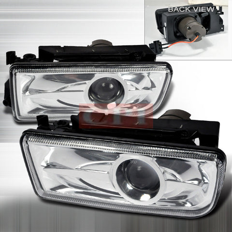BMW 92-98 BMW E36 3 SERIES - CLEAR PROJECTOR FOGLIGHTS/ LAMPS   1 SET RH & LH 1992,1993,1994,1995,1996,1997,1998